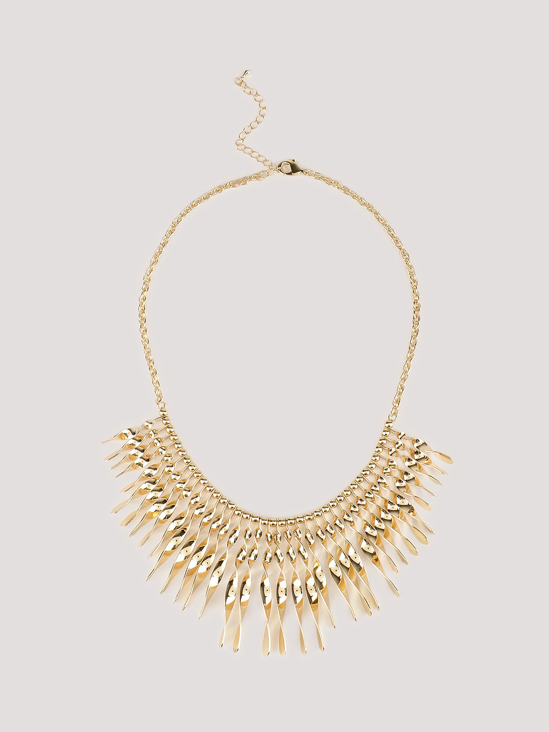 KOOVS Gold Drop Necklace 1