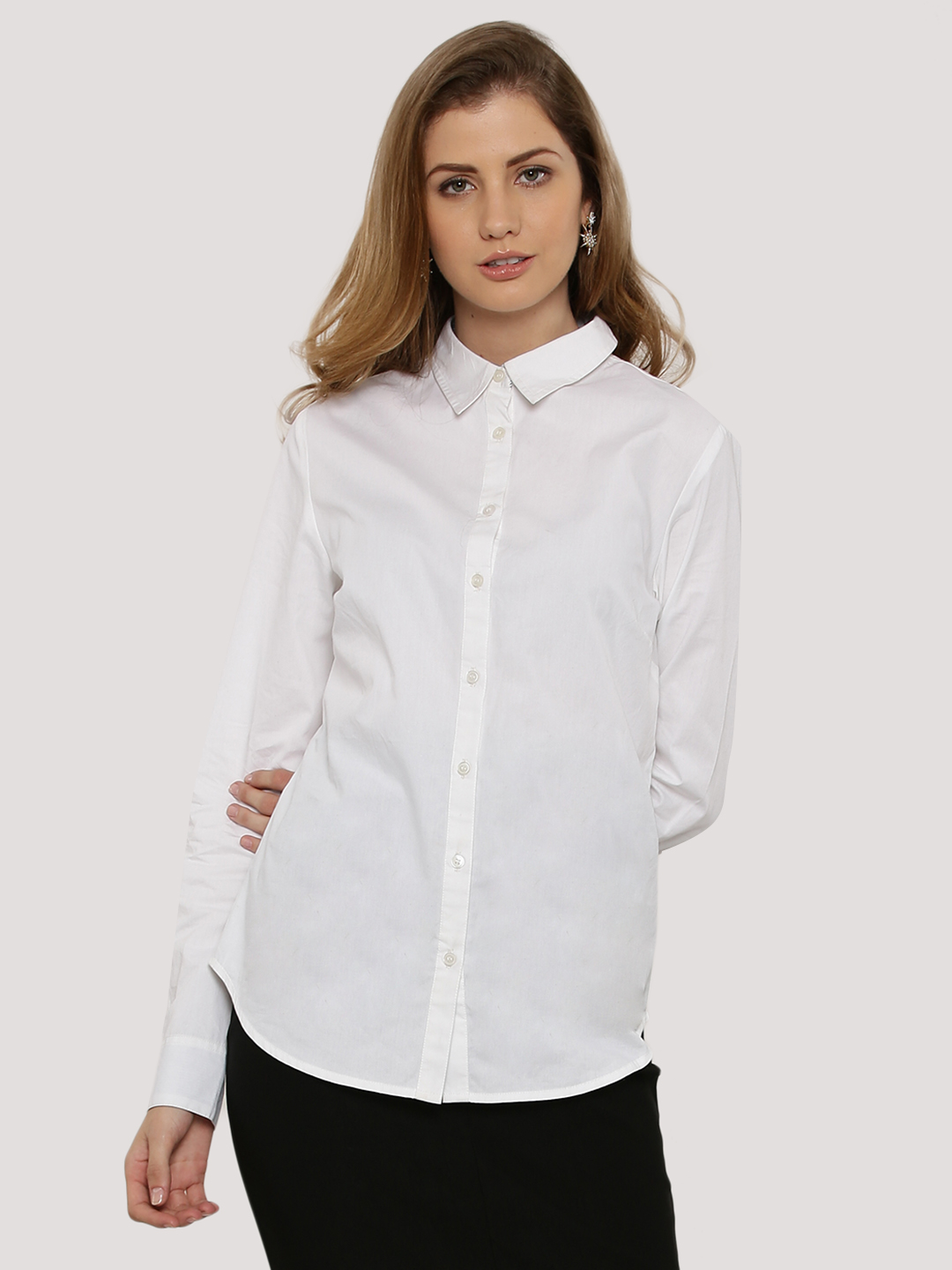 KOOVS Tailored Fitted Shirt...
