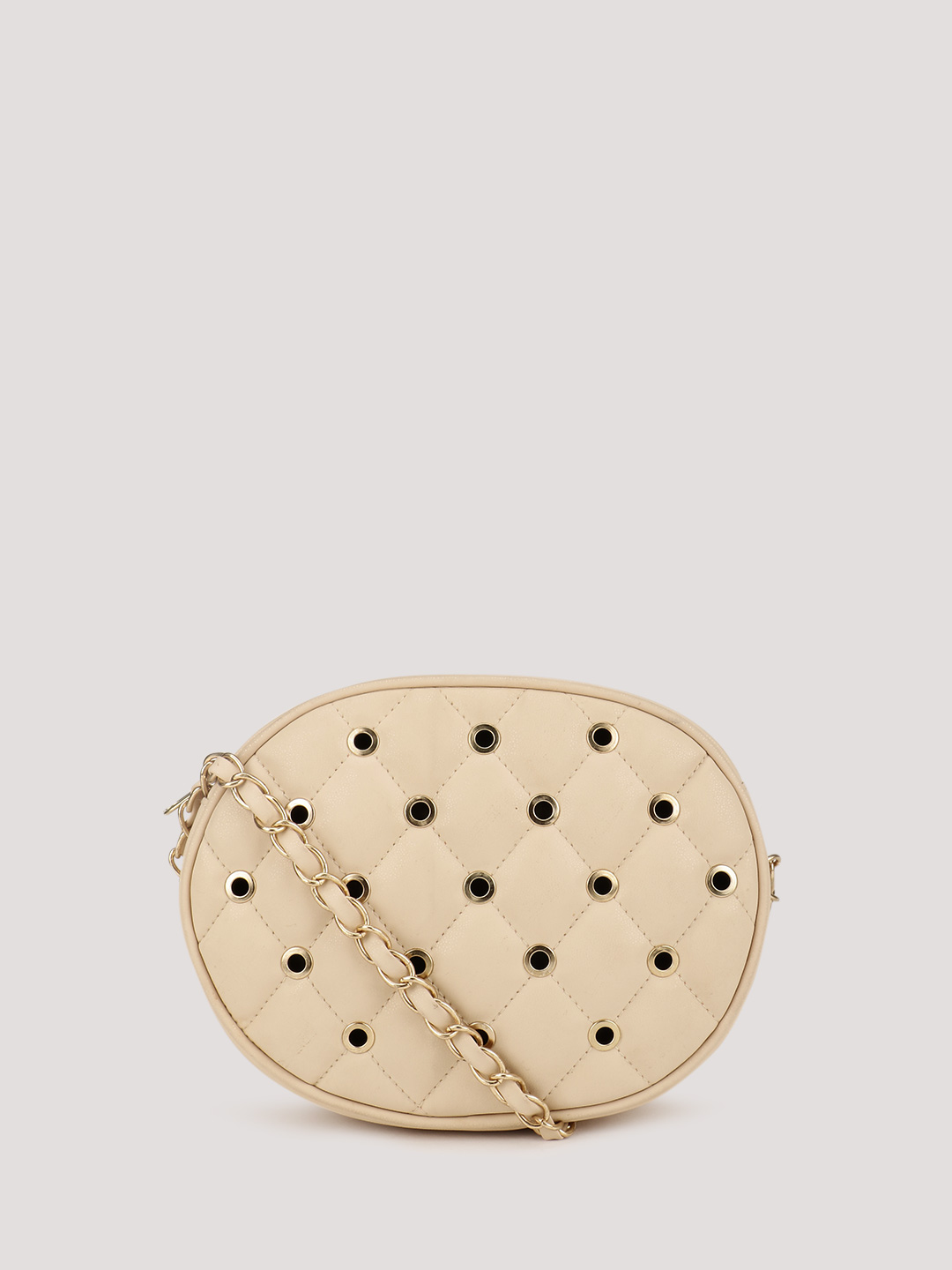 KOOVS Quilted Eyelet Cross Bod...