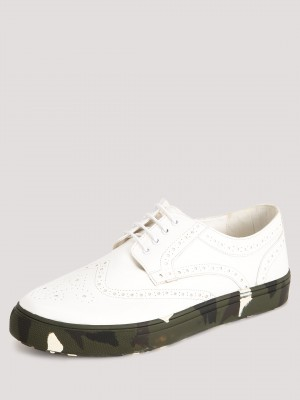 KNOTTY DERBY Brogue Plimsolls ...