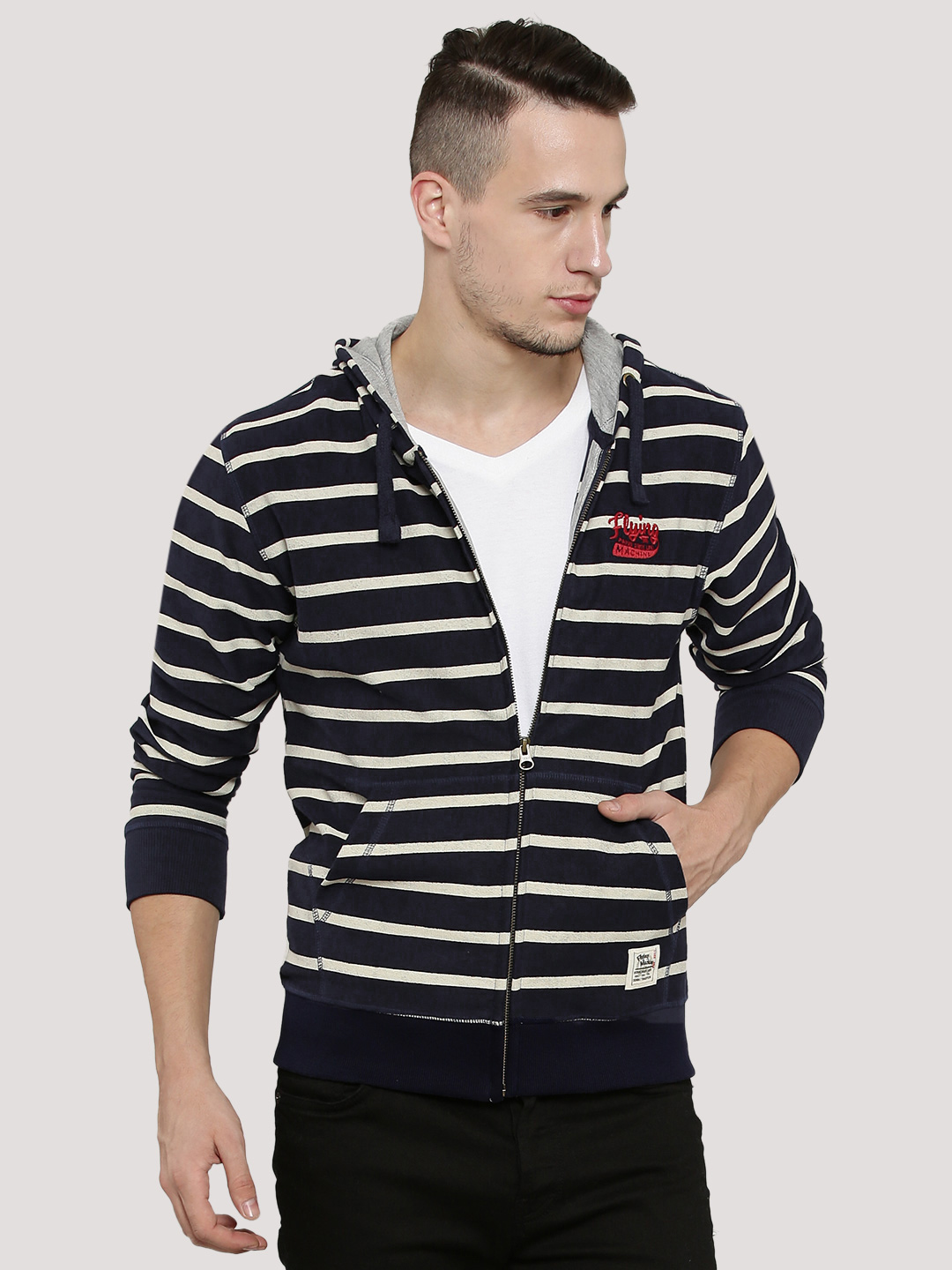 Flying Machine Striped Jacket ...