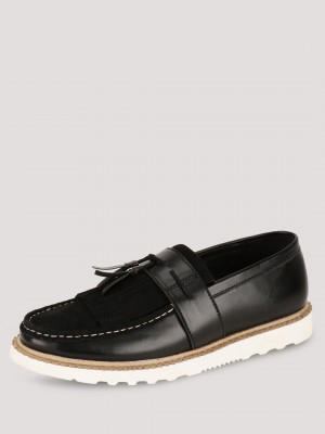 KOOVS Cleated Sole Loafers...