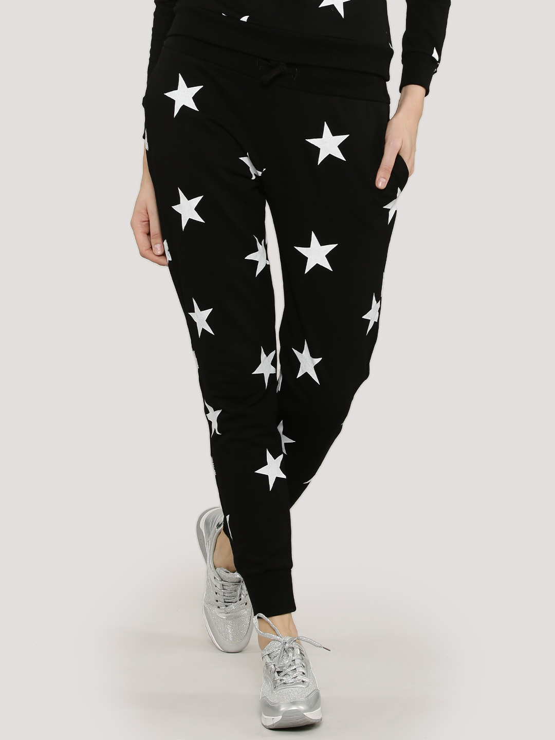 Influence Star Print Joggers...