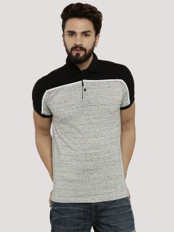 Atorse Contrast Panel Polo