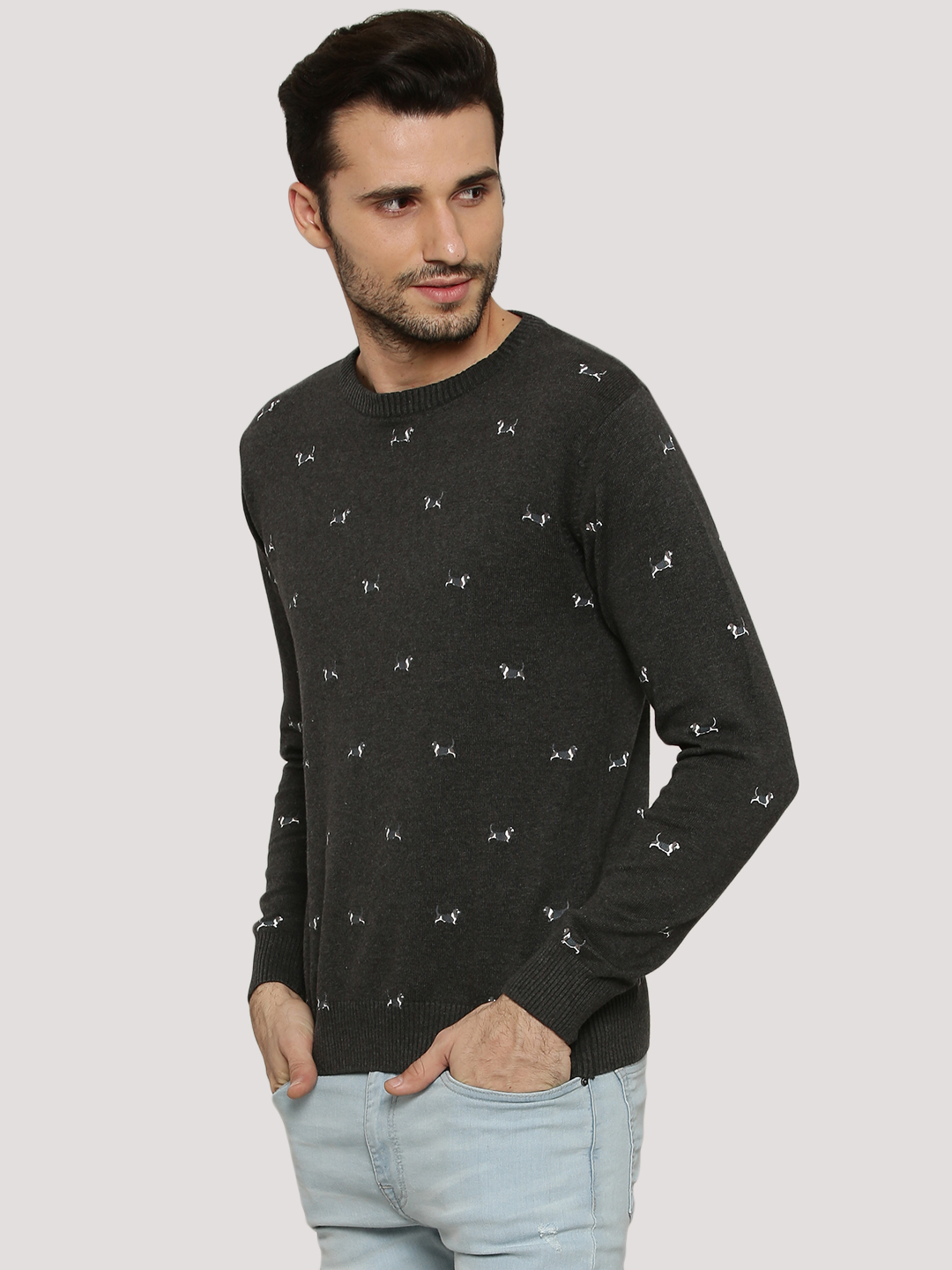 Pepe Jeans ANTHRA Dog Motif Pullover 1
