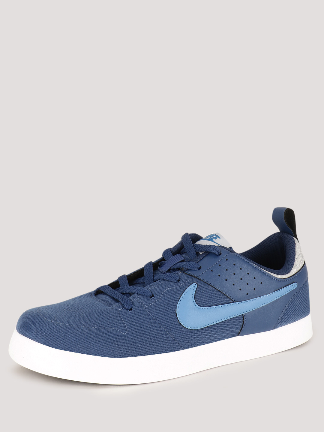 Nike Blue Liteforce Mid Trainers 1