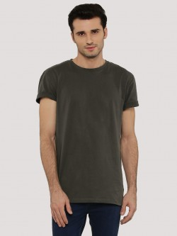 New Look Basic Longline T-Shirt