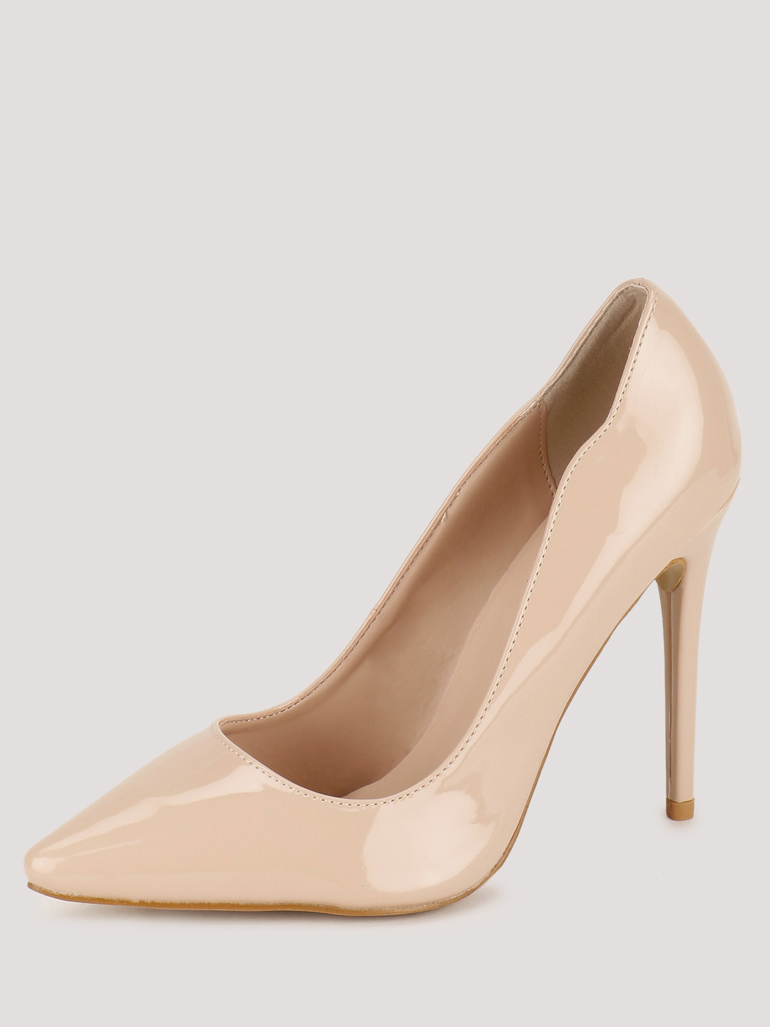 Intoto Nude Patent Pumps 1