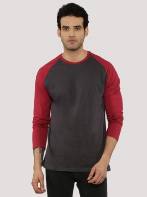 BLOTCH Colour Block Raglan T-S...