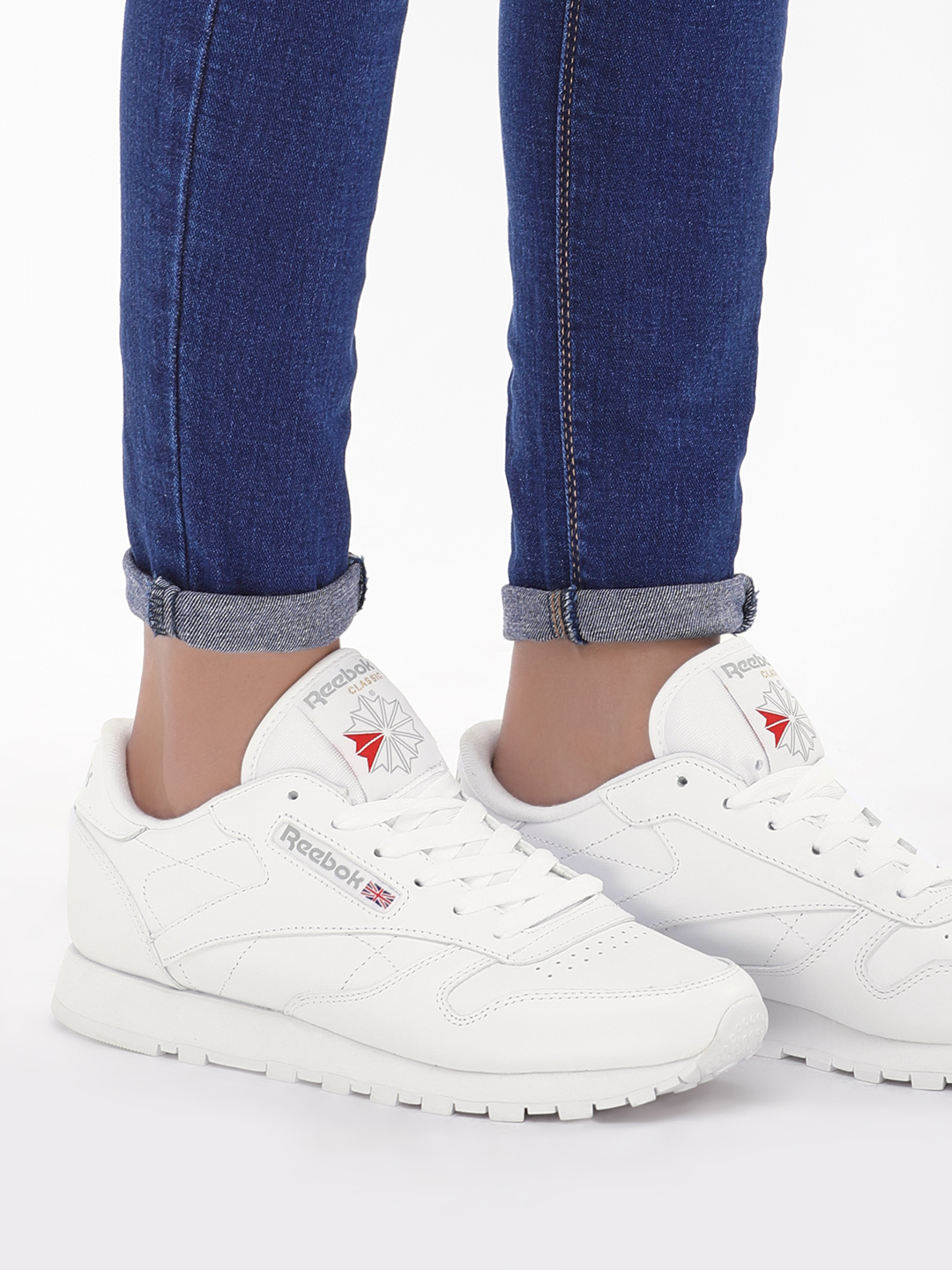 Reebok Classics White Leather Trainers 1