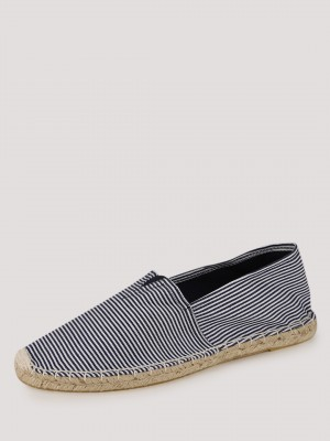 HECKLER Striped Slip-On Espadr...