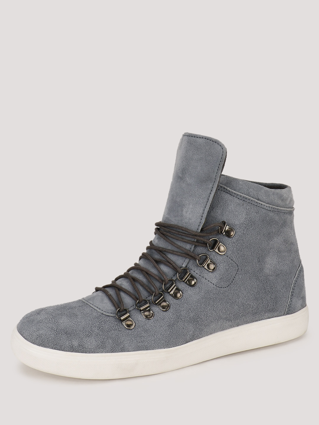 Heckler Hi Top Sneakers With M...