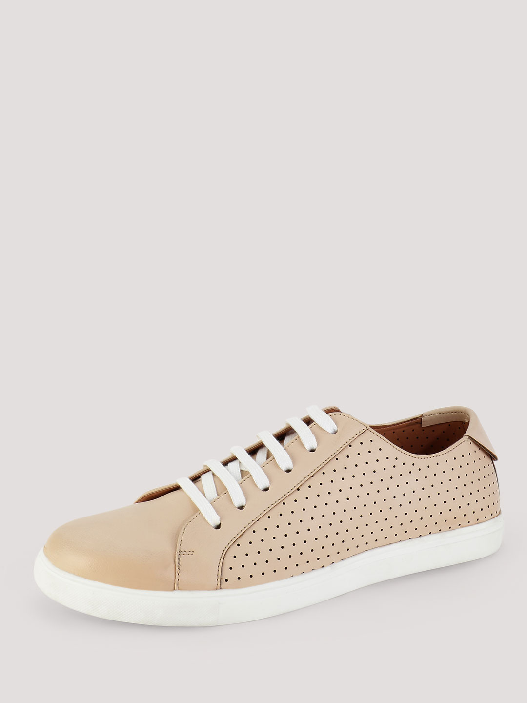 Griffin Pink Shoe with Perforated Side Panels 1