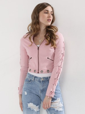 KOOVS Lace Up Jacket...