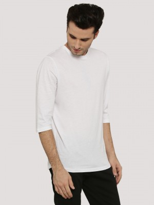 NEW LOOK 3/4 Sleeve Curved Hem...