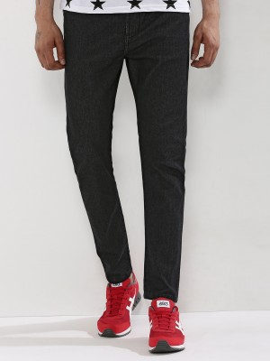 K DENIM  Washed Black Knitted ...