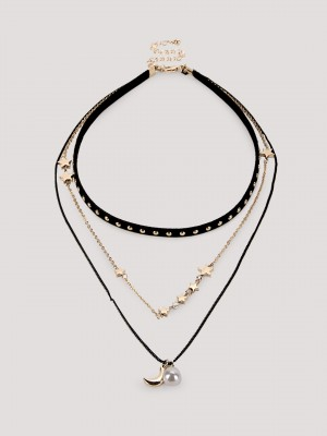 KOOVS Choker And Necklace...
