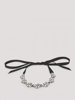 KOOVS Tie Detail Necklace...