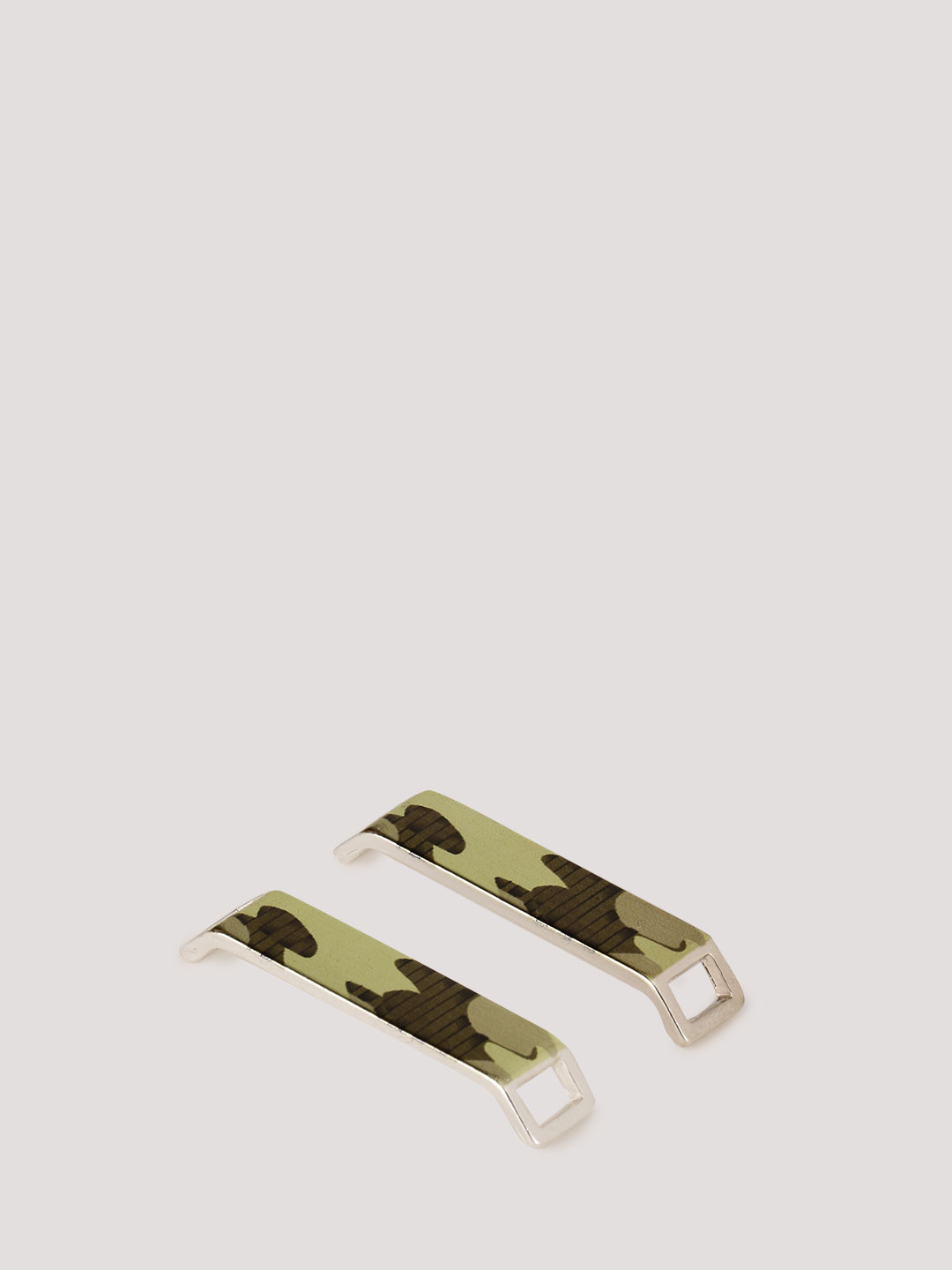 KOOVS Green Camo Shoe Lace Toppers 1