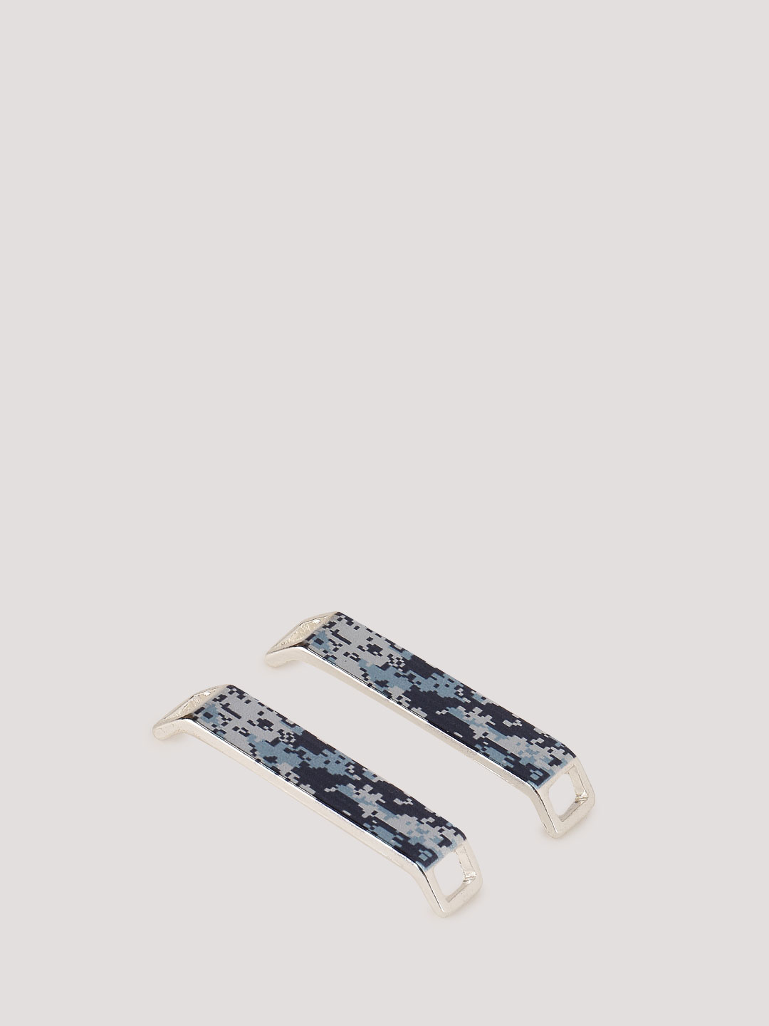 KOOVS Blue Camo Shoe Lace Toppers 1