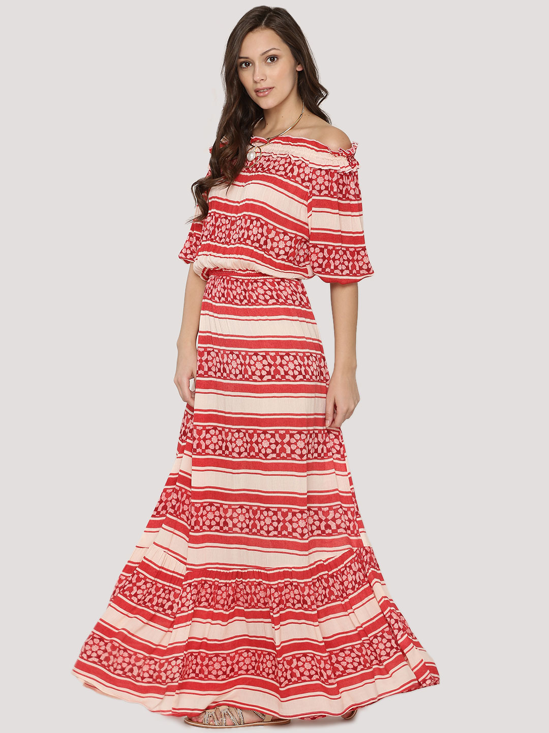 Rena Love Print Printed Maxi Dress 1