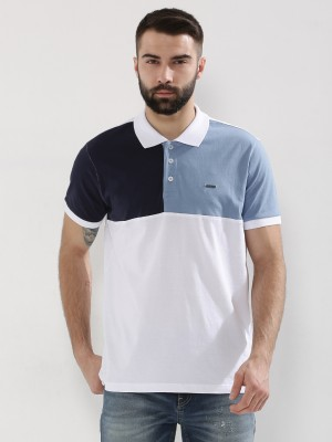 GARCON Colourblock Panel Polo ...
