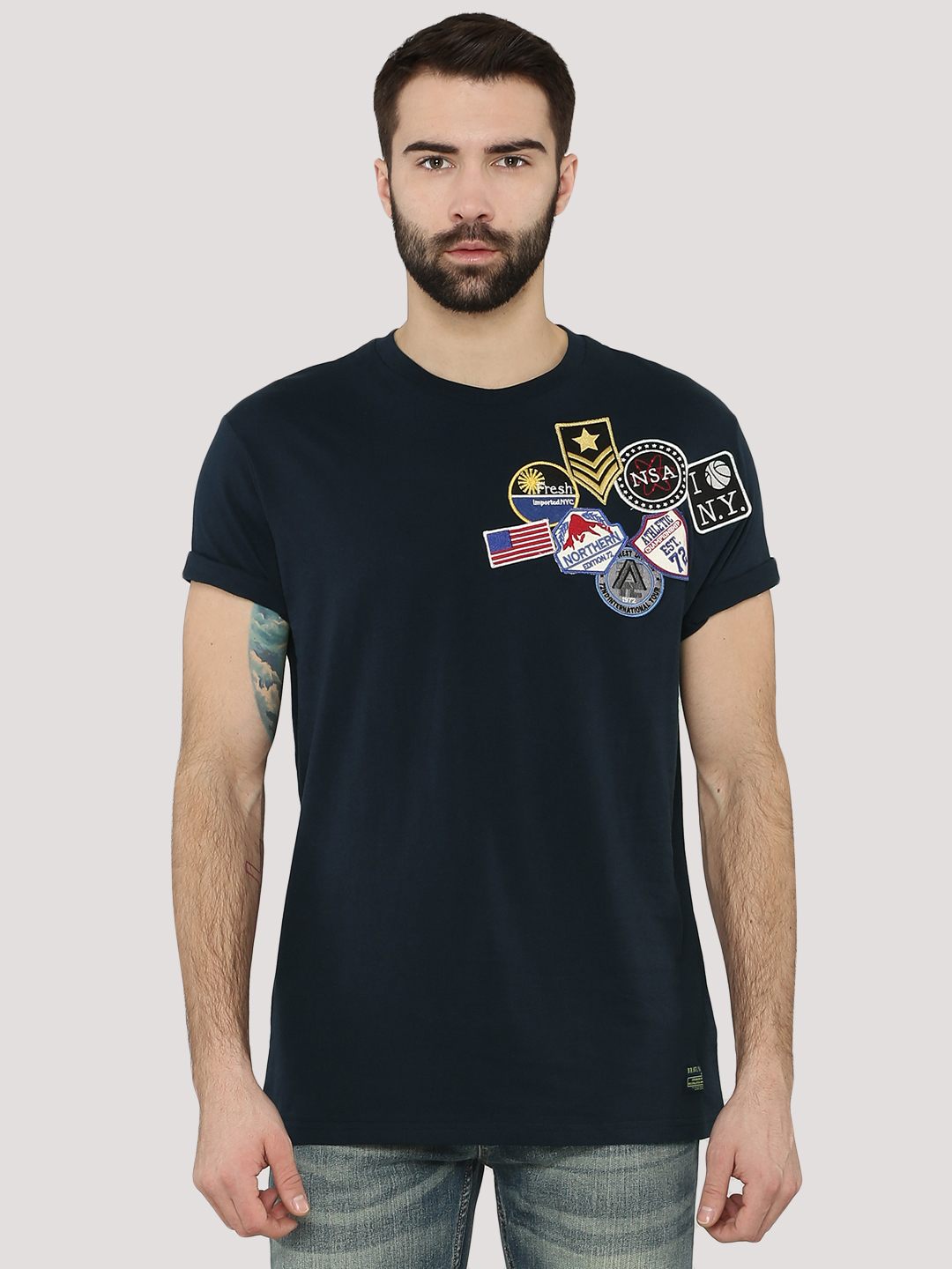 Brave Soul Badge T-Shirt...