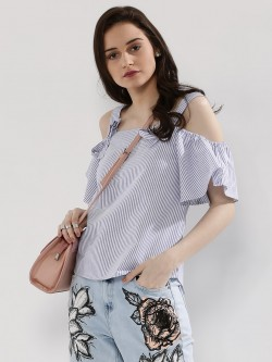 Glamorous Cold Shoulder Top