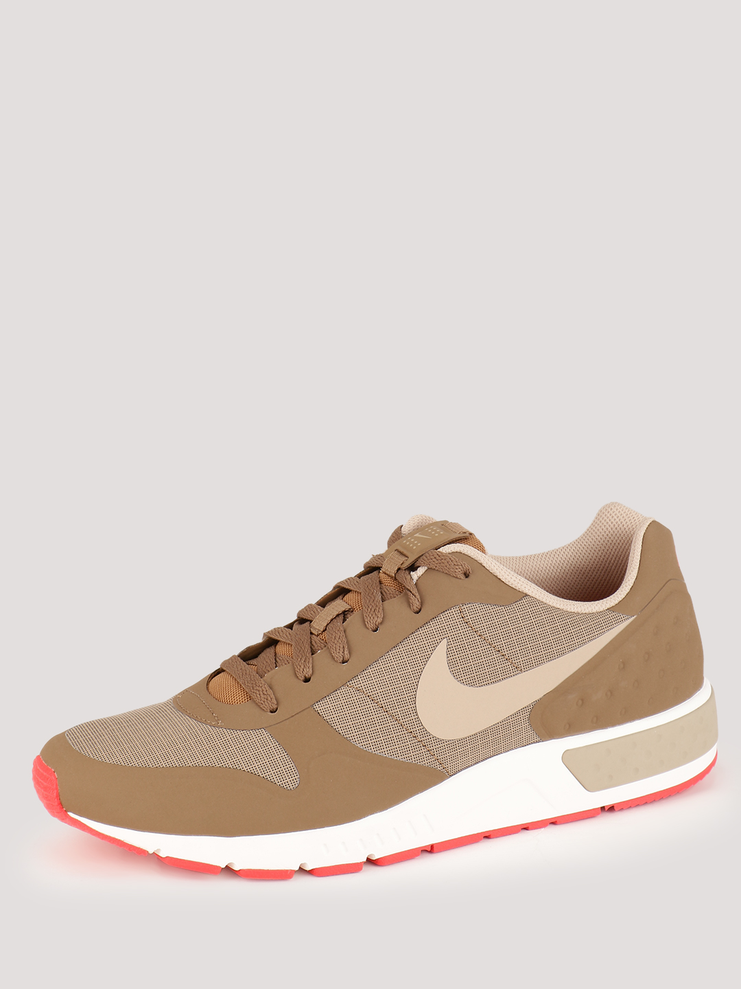 Nike Golden Beige/Orange-Sail Nightgazer Trainers 1