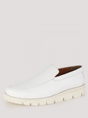 GRIFFIN Loafers With Chunky So...