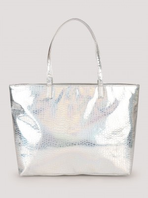 KOOVS Iridescent Tote Bag...