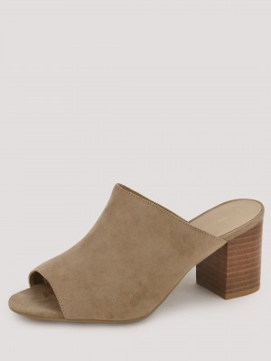 NEW LOOK Block Heel Mules...