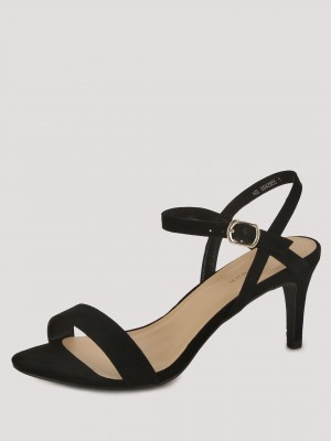 NEW LOOK Ankle Strap Mid Rise ...