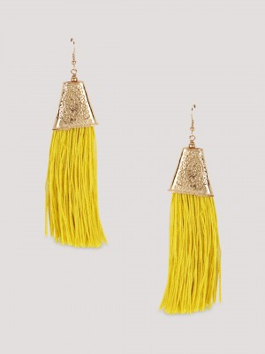 BLUEBERRY Tassel Earrings...