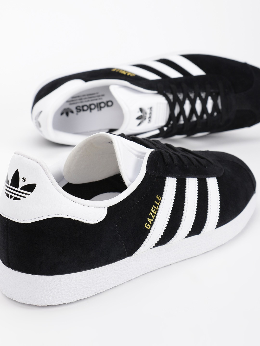 Adidas Originals Black Gazelle Sneakers 1