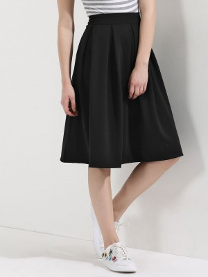 BEYOND CLOUDS Pleated Skirt...