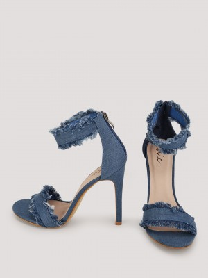 NO DOUBT Denim Heeled Sandals ...