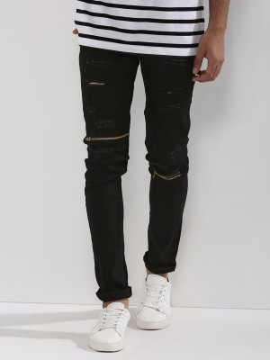 KULTPRIT Slim Fit Jeans With R...