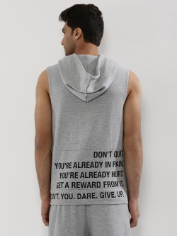 Adamo London Cut & Sew Hoodie With Back Print