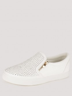 Truffle Collection Embellished Trainers