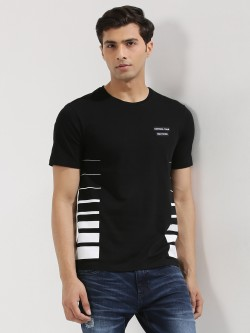 Cant Find My Knees Contrast Side Stripe T-Shirt