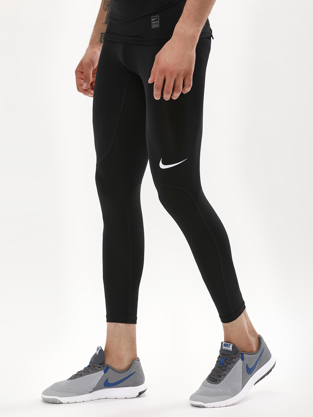 Nike Black Pro Compression Tights 1