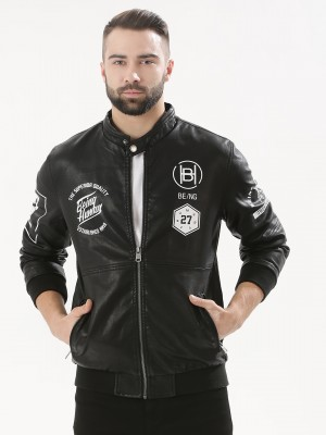BEING HUMAN Bomber Jacket With...