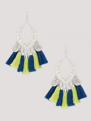 BLUEBERRY Boho Earrings...