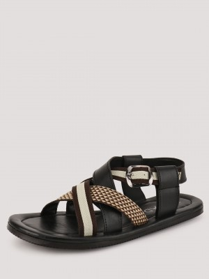 TREAD Cross Over Sandals With ...