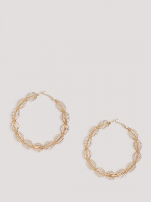 ERISTONA Statement Hoops Earri...