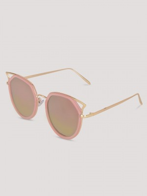 SNEAK-A-PEEK Cateye Sunglasses...