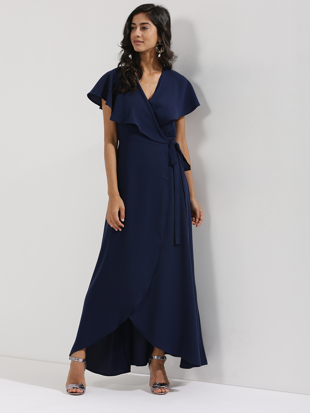 Femella Wrap Maxi Dress...