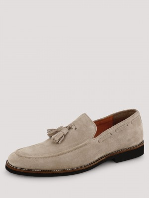GRIFFIN Loafers With Tassel De...