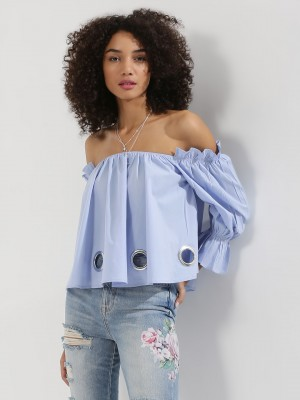 KISSCOAST Off Shoulder Blouse ...